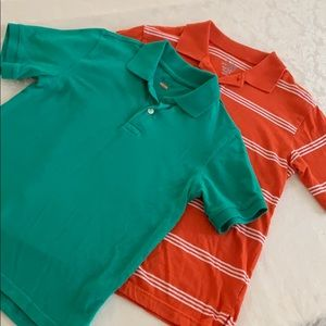 Boy's Polo Pair